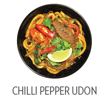 Chilli pepper udon